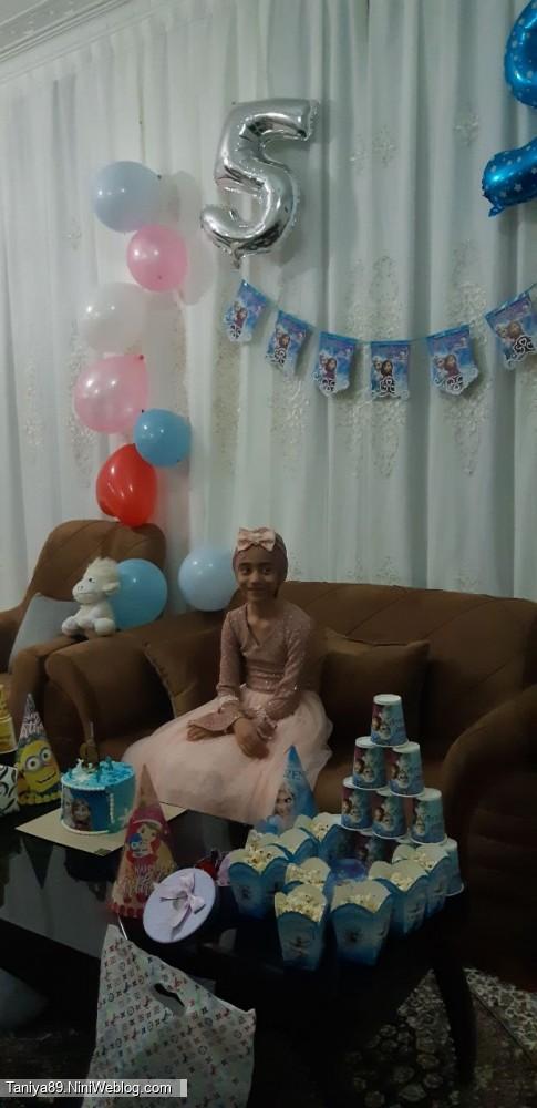 تولد نُه سالگی تانیا عزیزم ❤️