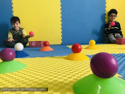 افزایش تمرکز در کودک با بازی مهارتی حرکتی
