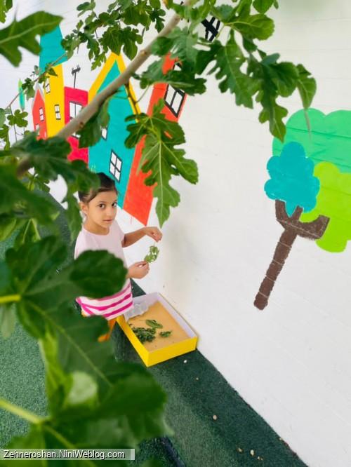 آموزش مفاهیم علوم وپرورش خلاقیت کودکان در مهد کودک صادقیه